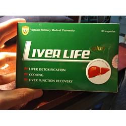 Giải độc  gan LIVER LIFE PLUS Học viện quân y
