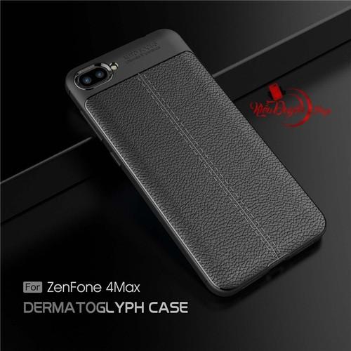 Ốp lưng Asus Zenfone 4 Max ZC520KL dẻo vân da cao cấp