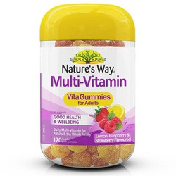 Kẹo Dẻo Natures Way Multi-Vitamin Vita Gummies For Adults - 120 Viên