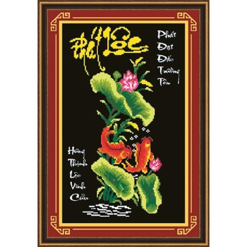 Tranh đính đá Phát Lộc