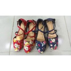 Giày búp bê hoa thiết kế