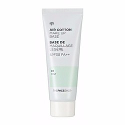 Kem lót Make up Base Air Cotton The Face Shop