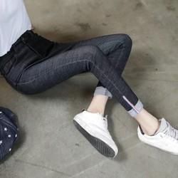 Quần jean cạp cao thời trang nổi bật đôi chân ngọc ngà của bạn 115