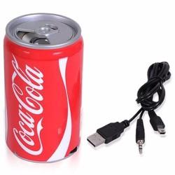 Loa nghe nhạc MP3 hình lon nước ngọt  Coca Cola