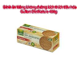 Bánh ăn kiêng không đường kích thích tiêu hóa Gullon DietNature 400g