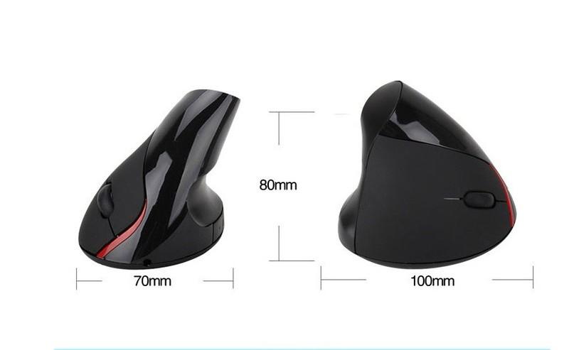 Chuột không Dây Wireless vertical mouse chuột đứng PKCB-WLM 2