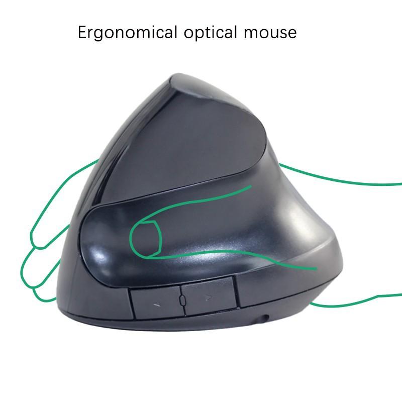 Chuột không Dây Wireless vertical mouse chuột đứng PKCB-WLM 9