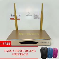 Androi TV box V1 RAM 2G tặng chuột quang không dây