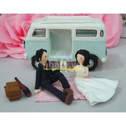 Quà tặng valentine độc lạ và ý nghĩa - tượng đất sét chibi couple