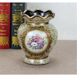 bình hoa gốm sứ hoa tròn