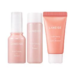 Bộ dưỡng sáng da Laneige. Fresh Calming Trial Kit 3 sản phẩm