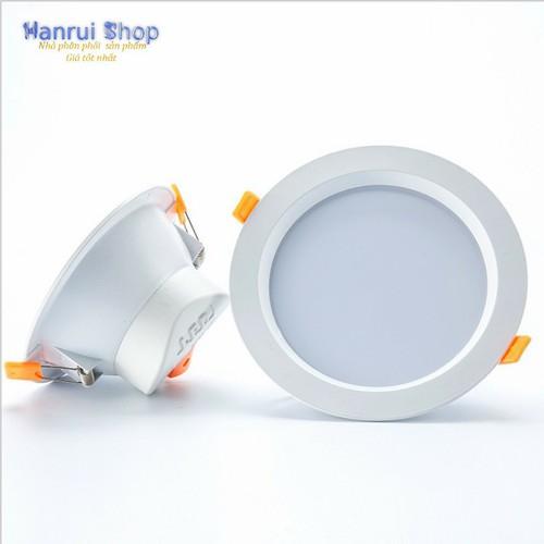 Worldmart bộ 5 đèn led âm trần cao cấp downline 9w, 6500k đường kính 9.5cm