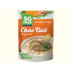 Cháo tươi Sài Gòn Food Gan gà, Cà rốt 270g