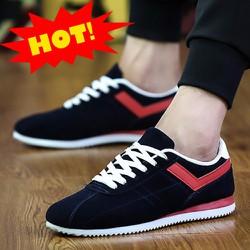 giày thể thao nam sọc đỏ GLK120