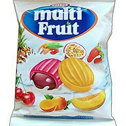Kẹo trái cây hỗn hợp Multi Fruit Tayas gói 90g