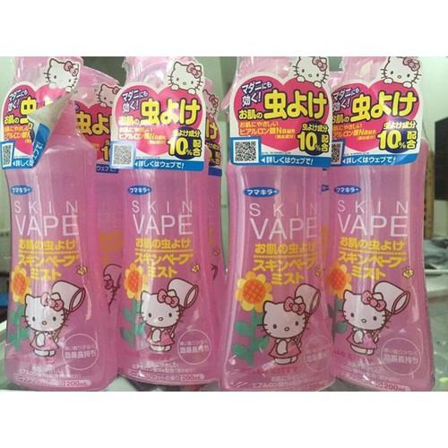 Xịt chống muỗi Skin_Vape Nhật Bản 200ml