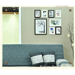 Bộ 8 khung ảnh treo tường phòng khách sang trọng