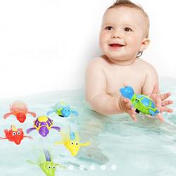 Đồ chơi sinh vật biển biết bơi -dây cót, kích thước 10 đến 15cm-