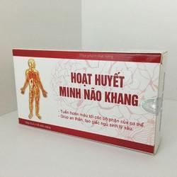 Hoạt Huyết Minh Não Khang - Giúp dưỡng tâm an thần, tạo giấc ngủ sâu