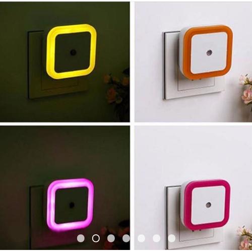 Đèn ngủ cảm biến sáng - hình vuông - 4983095 , 8716450 , 15_8716450 , 15000 , Den-ngu-cam-bien-sang-hinh-vuong-15_8716450 , sendo.vn , Đèn ngủ cảm biến sáng - hình vuông