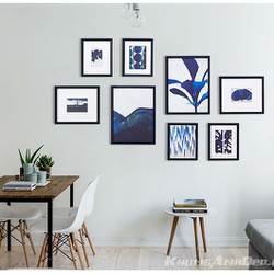 Bộ 8 khung ảnh treo tường văn phòng, phòng khách