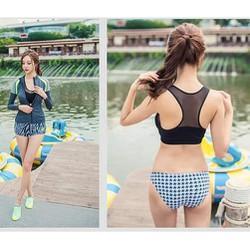 Bikini phong cách thể thao năng động