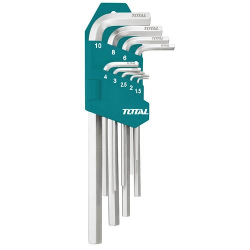 1.5-10mm Bộ lục giác đầu bi dài 9 chi tiết Total THT106292 - 4422577 , 8714420 , 15_8714420 , 113000 , 1.5-10mm-Bo-luc-giac-dau-bi-dai-9-chi-tiet-Total-THT106292-15_8714420 , sendo.vn , 1.5-10mm Bộ lục giác đầu bi dài 9 chi tiết Total THT106292
