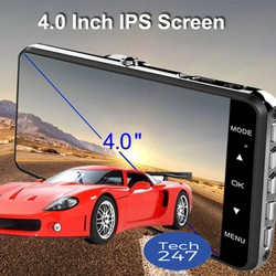 Camera hành trình ô tô 2 camera- FULL HD + THẺ NHỚ 32G