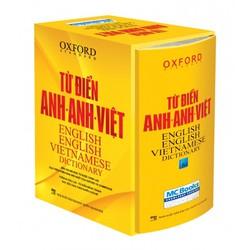 Từ điển Oxford Anh Anh Việt -bìa cứng vàng