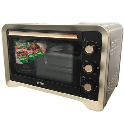 Lò nướng Sanaky VH-809N2D - 2000W 80L Vỏ Inox