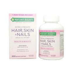 Vitamin Làm Đẹp Da, Tóc, Móng Hair Skin and Nails Natures Bounty