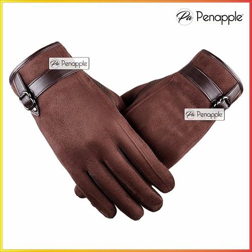 Găng tay da lộn cho Nam hỗ trợ sử dụng màn hình cảm ứng - Màu Nâu - 4422870 , 8721660 , 15_8721660 , 89000 , Gang-tay-da-lon-cho-Nam-ho-tro-su-dung-man-hinh-cam-ung-Mau-Nau-15_8721660 , sendo.vn , Găng tay da lộn cho Nam hỗ trợ sử dụng màn hình cảm ứng - Màu Nâu