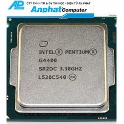 CPU Pentium G4400 3.3Ghz tray fan zin socket 1151 Bảo hành 36 tháng