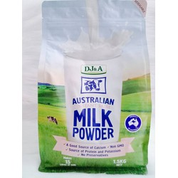 Sữa tươi dạng bột tách kem DJ and A 1.5KG Úc