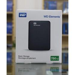Ổ Cứng Di Động WD Elements 750G