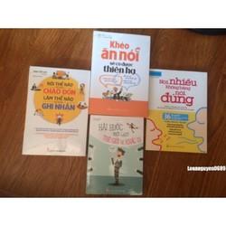 combo 4 cuốn khéo ăn khéo nói hài hước một chút
