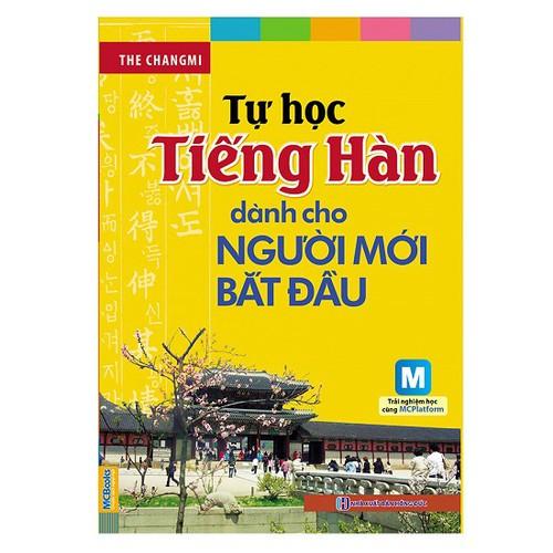 Tự Học Tiếng Hàn Dành Cho Người Mới Bắt Đầu Kèm CD Hoặc Tải App