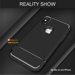 Ốp lưng cho IPhone 5s-6-6s-7-8-X dẻo xe sang trọng