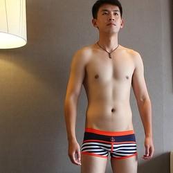 Quần lót nam boxer trẻ trung, cá tính Combo 3 quần lót boxer LN016