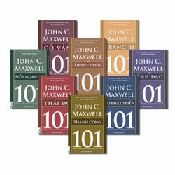 BỘ 8 CUỐN - 101 NHỮNG ĐIỀU NHÀ LÃNH ĐẠO CẦN BIẾT - JOHN C.MAXWELL