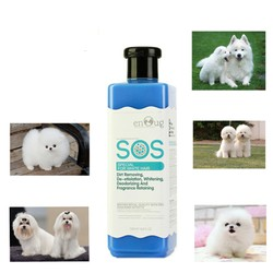 Dầu tắm SOS dành cho Chó Mèo Lông màu Trắng