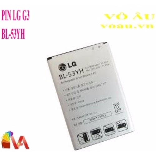PIN LG G3 BL-53YH - 5250021 , 8727147 , 15_8727147 , 110000 , PIN-LG-G3-BL-53YH-15_8727147 , sendo.vn , PIN LG G3 BL-53YH