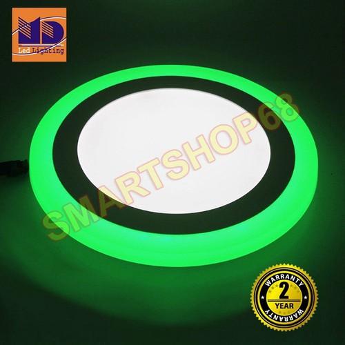 Đèn LED ốp trần viền màu 9W