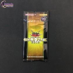 Gói bài Gold Pack 2016 - hàng Yugioh chính hãng Nhật Bản