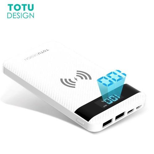 Pin dự phòng TOTU 10000mAh tích hợp sạc không dây Wireless Charger - 4983733 , 8729659 , 15_8729659 , 850000 , Pin-du-phong-TOTU-10000mAh-tich-hop-sac-khong-day-Wireless-Charger-15_8729659 , sendo.vn , Pin dự phòng TOTU 10000mAh tích hợp sạc không dây Wireless Charger