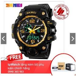 Đồng hồ thể thao nam Skmei 1155-dây cao su siêu bền Fullbox