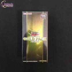 Hộp bài Gold Pack 2016 - hàng Yugioh chính hãng Nhật Bản