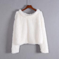 Áo thời trang nữ lông cừu mềm mịn