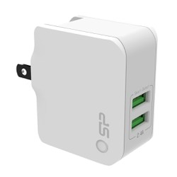 CÓC SẠC BOOST CHARGER WC102P 2 CỔNG USB SILICON POWER
