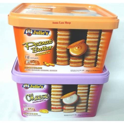 Bánh quy sandwich - Julies - Malaysia